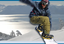 Snowboarder Photo Collage